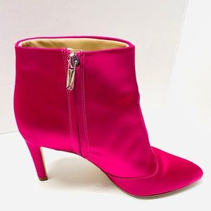 Sam Edelman Hot Pink high heel bootie 7.5